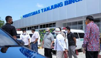 Gubernur Erzaldi Tinjau Vaksinasi Covid-19 kepada Pelaku Wisata Belitung