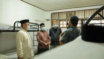 Gubernur Erzaldi Tinjau Yayasan Rehabilitasi Pendaki Sehati Bangka Belitung