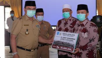 Gubernur Erzaldi Umrohkan Kafilah dan Pelatih MTQ Babel