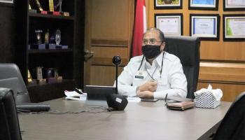 Gubernur Erzaldi Vidcon dengan Mahasiswa Asal Babel di Sudan yang Memohon Bantuan