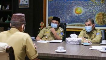 Gubernur Erzaldi Wawancara Langsung Tujuh Calon Kepala SMK di Babel