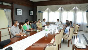 Gubernur : Kita Berupaya Bisnis Kelapa Sawit Lebih Mantap