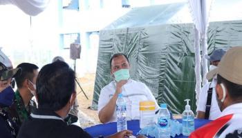 Gubernur Tinjau Persiapan Kejuaraan Menembak Tingkat Internasional di Belitung