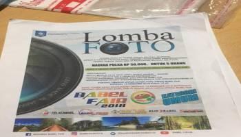 Hadiah Lomba Foto Babel Fair 2018 Dinilai tidak Menghargai Fotografer