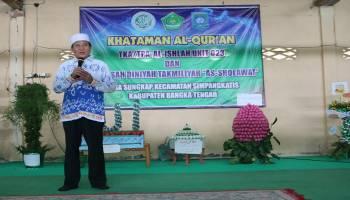 Hadiri Acara Khataman, Bupati Minta Anak-Anak Terus Membaca Al-Quran