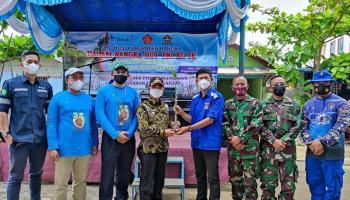 Hadiri Penanaman 5.000 Mangrove di Nelayan 2, Bupati Mulkan : Apa Yang Dilakukan TNI dan HNSI Bangka Sesuai Program Pemerintah