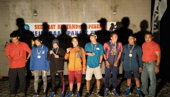 Hadiri Penutupan Lomba Panjat Tebing Bupati Cup III, Ketua FPTI Bangka Berharap Melalui Olahraga Bangka Lebih Dikenal