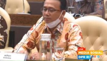 Hadiri RDP Komisi IV DPR RI, Syahbudin: PT Timah Harus Hentikan Dulu Aktivitas Tambang di Perairan Matras