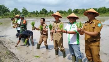 Hadiri Silaturahmi Dengan Gapoktan Mekar Tani, Elius Gani Siap Membantu Kendala Para Petani
