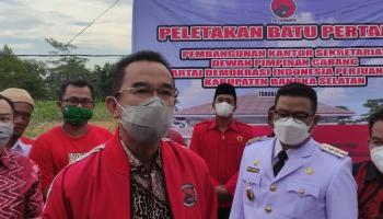 Hanya Menang Satu Kabupaten, Rudianto Tjen Tak Menampik Perombakan DPD PDIP Babel