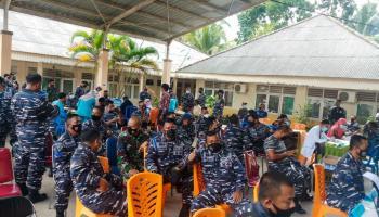 Hari Kelima Pelaksanaan Vaksin di Kabupaten Bangka Mencapai 855 Orang