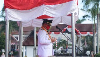 Hari Kemerdekaan, Gubernur Erzaldi Ajak Masyarakat Melanjutkan Perjuangan Pahlawan