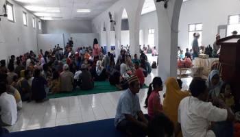 Hari Pertama Idul Fitri, 1.000 Keluarga Warga Binaan Berkunjung ke Rutan Muntok