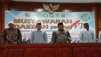 Hari Subari Jabat Kembali Ketua BKPRMI Kabupaten Bangka Periode 2019-2023
