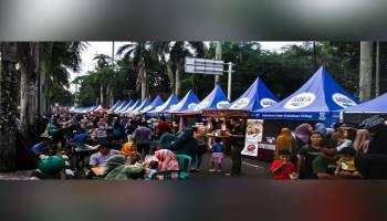 Hari Terakhir, Food Milennial Festival Pangkalpinang Diserbu Masyarakat