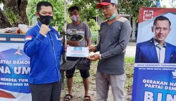 Hendra Yunus Imbau Kader Partai Demokrat Bantu Masyarakat Terdampak Covid-19