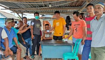 HNSI Bangka Bantu Nelayan Dapatkan Kartu Nelayan dan Asuransi Keselamatan