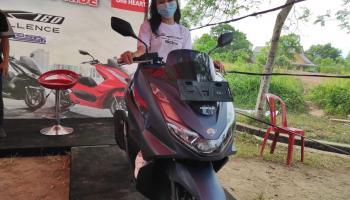 Honda Babel Ajak Jurnalis dan Komunitas Merasakan Sensasi Kenyamanan PCX 160