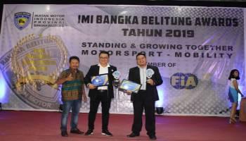 Honda Babel Raih Penghargaan Bergengsi Dari IMI Babel