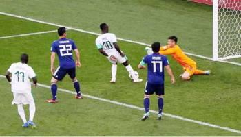 Honda Cetak Gol, Jepang Imbangi Senegal 2-2