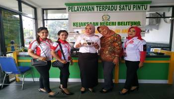 Honda Daya Motor Belitung, Beri Kejutan Konsumen yang Berulang Tahun