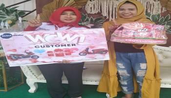 Honda Daya Motor Belitung, Beri Kejutan Program Wow Customer