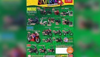 Honda Daya Motor Pangkalpinang Berikan Promo Semarak Honda