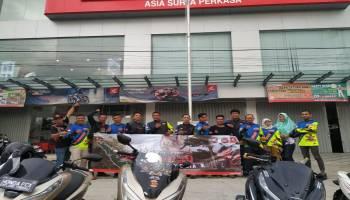 Honda PCX Bangka Goes To 0 KM Indonesia