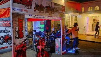 Honda Sport Motoshow Hadir Kembali di Secret Coffe Pangkalpinang
