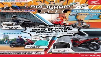 Honda TDM Payung Gelar Promo April DP Rp 700 Ribu
