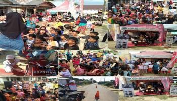 Honda TDM Tempilang Roadshow di Desa Sangku