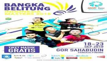 Horee... Tiket Indonesia Master 2018 Gratis, Erzaldi : Pangkalpinang Siap Sambut Pebulutangkis Dunia