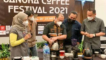 Hotel Santika Gelar Bangka Coffee Festival 2021, Gubernur Erzaldi: Bisa Bangkitkan Ekonomi