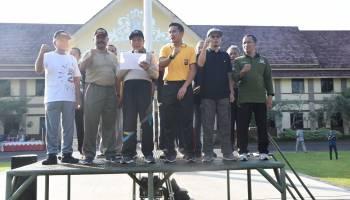HUT 73 Bhayangkara, Polres dan Pemkab Bateng Deklarasi Tolak Kerusuhan