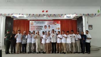 HUT ke 12 di DPC Partai Gerindra Kabupaten Bangka, Mendra Harap Gerindra Kedepan Semakin Jaya