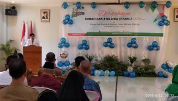 HUT ke 14, RS Medika Stania Resmikan Gedung Baru Poliklinik