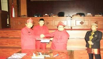 HUT Kota Muntok, DPRD Babar Gelar Rapat Paripurna