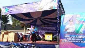 Ibnu Saleh Ajak Warga Ramaikan TPS 17 April Nanti