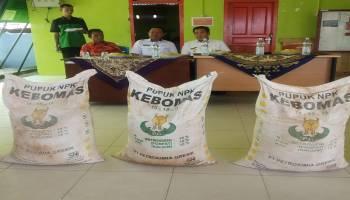 Ibnu Saleh Berikan Bantuan Pupuk dan Kapur kepada 200 Petani Lada