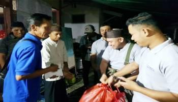 Ikatan Karyawan Timah Salurkan Bantuan Korban Kebakaran Jalan Trem