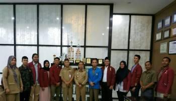 Ikatan Mahasiswa Muhammadiyah Pimpinan Cabang Bangka Silaturahmi ke Bupati Bangka