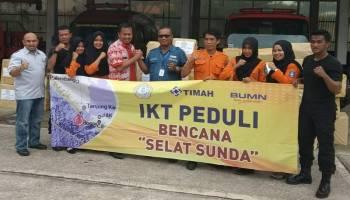 IKT Kirim Bantuan untuk Korban Tsunami Selat Sunda