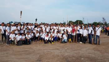 IKT Pangkalpinang-Cambai Ikut Berpartisipasi Kegiatan Gotong Royong Akbar
