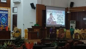 Ikuti Peringatan HUT Provinsi Babel ke 20, Menteri Desa Senang Para Pejabat Babel Kompak