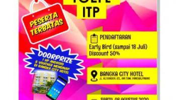 Ikutilah! Test TOEFL Akbar di Pangkalpinang Bangka City Hotel