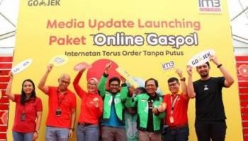 IM3 Ooredoo dan GOJEK Hadirkan Paket Online Gaspol, Internetan Terus, Order Tanpa Putus
