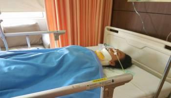Indah Erwani, Korban Tabrakan Butuh Bantuan