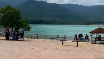 Indahnya Danau Pading, Jadi Alternatif Wisata Alam di Bangka Tengah