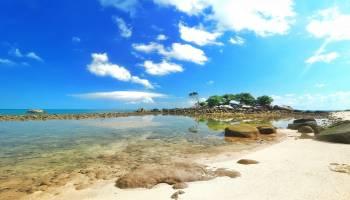 Keindahan Pulau Lampu yang Mempesona