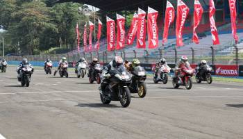 Indonesia CBR Raceday Sapa Pecinta Kecepatan
